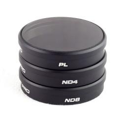 DJI Phantom 3 - Tripack Filtres POLAR PRO - Pack de 3 filtres