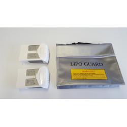 Sac sécurité pour batteries LIPO-SAFE (240x65x180mm))
