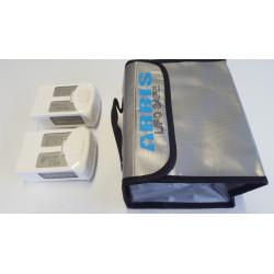 Sac sécurité pour batteries LIPO-SAFE (215x155x115mm)