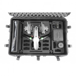 DJI Inspire 2 / Pack Pro RAW (X5S + Licences + SSD + Valise + Batteries + etc...)